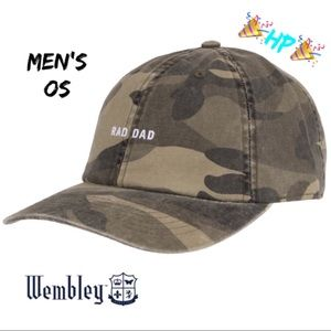 "255904ef90c Wembley ""RAD DAD"" Dad Hat NWT Q"